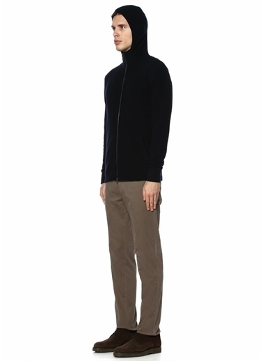 Roberto Collina Fermuarlı Sweatshirt Lacivert